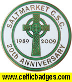 Saltmarket 20th anniv. badge  (No 1049)
