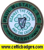 Paul McStay CSC Derry - No 1073