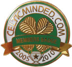 Celtic Minded Members badge - No 1103