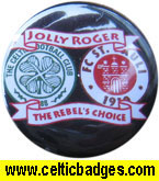Jolly Roger Hamburg - given out at St Pauli v Celtic friendly May 2010 (1123)