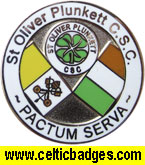 St Oliver Plunkett CSC Badge - No 1226
