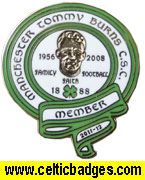 Tommy Burns CSC Manchester - No 1272