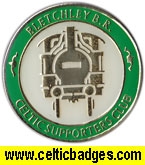 Bletchley BR CSC - error no train number - CSC badge No 557