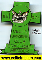 The Star CSC Bradford - Member - large badge