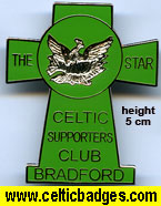 The Star CSC Bradford - large badge