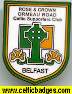 Rose & Crown Ormeau Road CSC Belfast No 648)