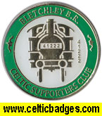 Bletchley BR CSC - correct has train number -CSC badge  No 648