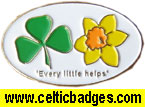 Blackburn Shamrock Charity badge by the CSC - No 849