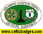 1938 Empire Exhibition Cup Final Celtic v Everton