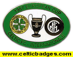 1967 European Cup Final Celtic v Inter Milan