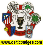 Ajax 1971 ECF win - crests of all clubs played