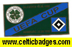 Celtic v Hamburg Uefa Cup 1996/7