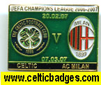 Celtic v AC Milan 2 set