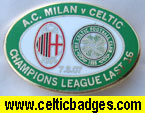 AC Milan v Celtic 3 set