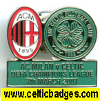 AC Milan v Celtic - given out on Thomas Cook flights to game