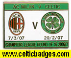 AC Milan Celtic 3 set