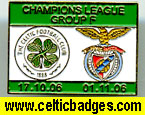 Celtic Benfica 3 set