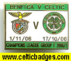 3 set Benfica v Celtic matches