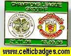 Celtic Man Utd 3 set