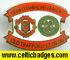 Man Utd v Celtic 13.09.06