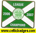 Champions 2006/7 Celtic Shop badge